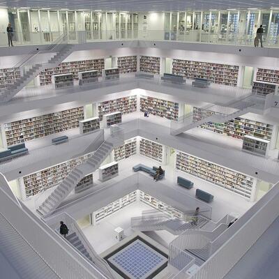 Stuttgart Library- Germany