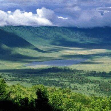 Ngorongoro Crater (Ngorongoro Conservation Area)  Tanzania