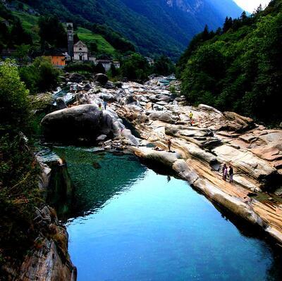 Valle Verzasca (Vogorno) Switzerland