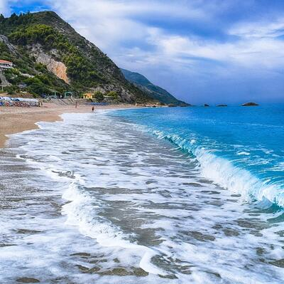 Kathisma beach | Lefkada | Greece