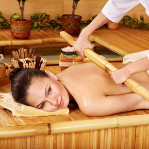 Experience a Bamboo Massage