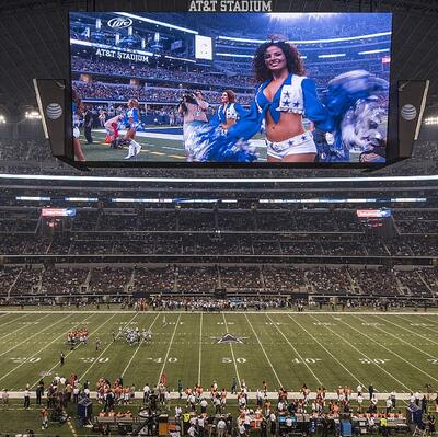 Watch a Game at Cowboys Stadium