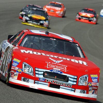 Watch a NASCAR race