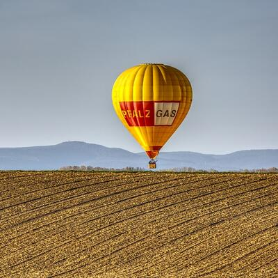 "Sing ""Up, Up, and Away"" while in a hot air balloon"