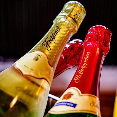 Have a champagne breakfast
