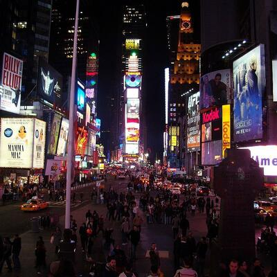 Spend New Years Eve in Times Square