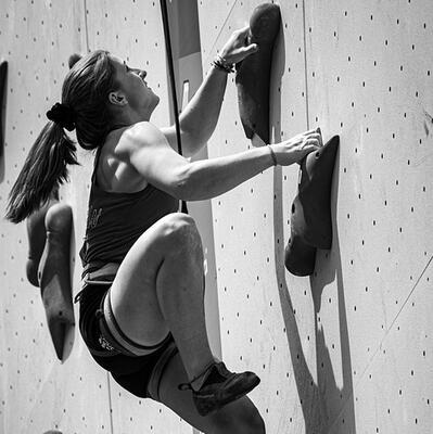 Master a climbing wall