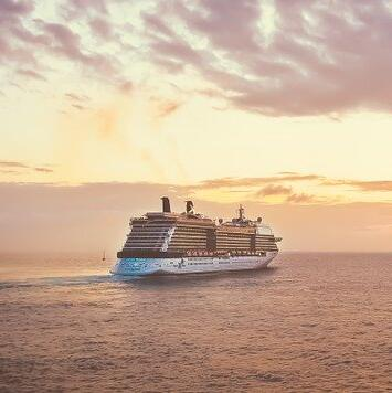 Go on a transatlantic cruise