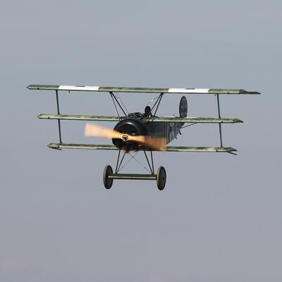 Fly in a triplane