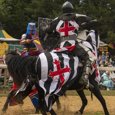 Watch a Medieval Joust