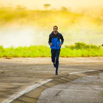 Run a mile in under 10 minutes