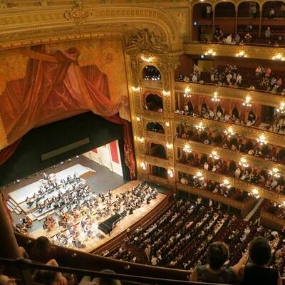 Attend a performance of a symphony orchestra