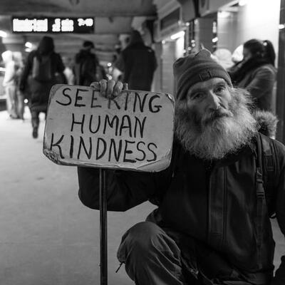 Be kind to everyone I meet including strangers