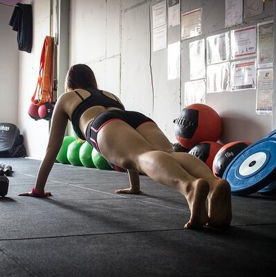 Plank for one minute