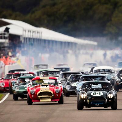 Go to Goodwood Revival classic car race