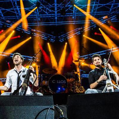 Go to a 2CELLOS Concert