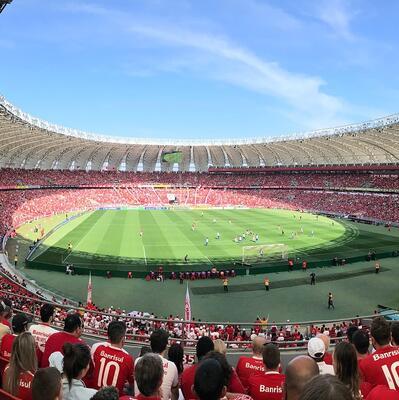 Attend an international soccer match