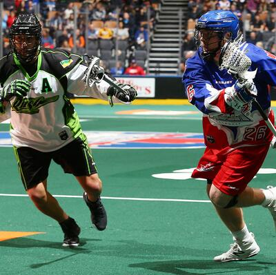 Go to a NLL Lacrosse game