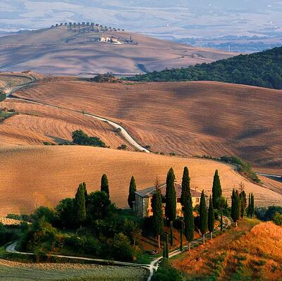Stay in a Tuscan farmhouse