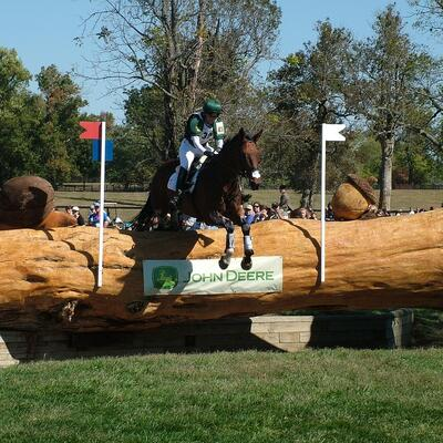 Watch equestrian cross country